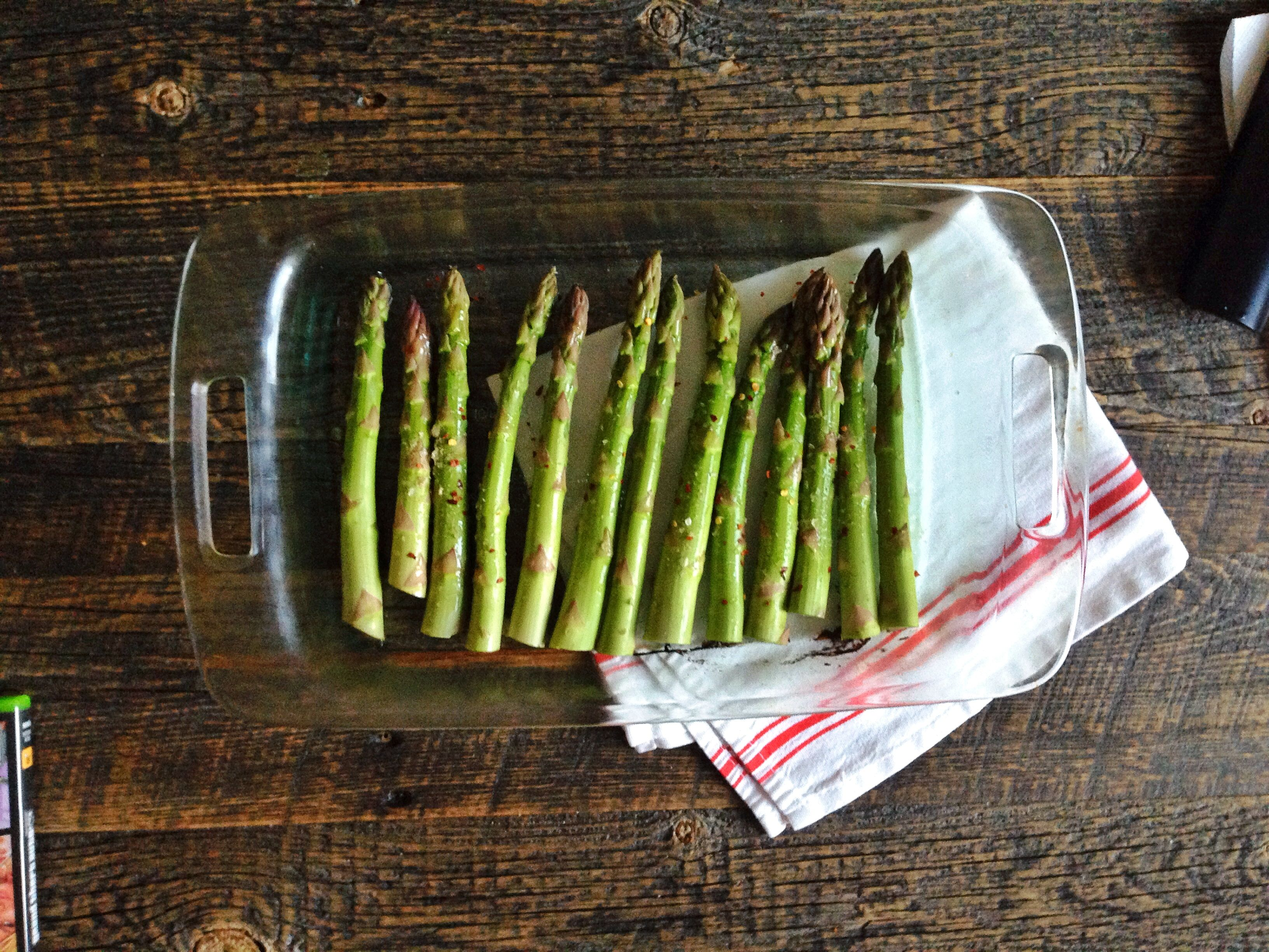 roasted asparagus, final