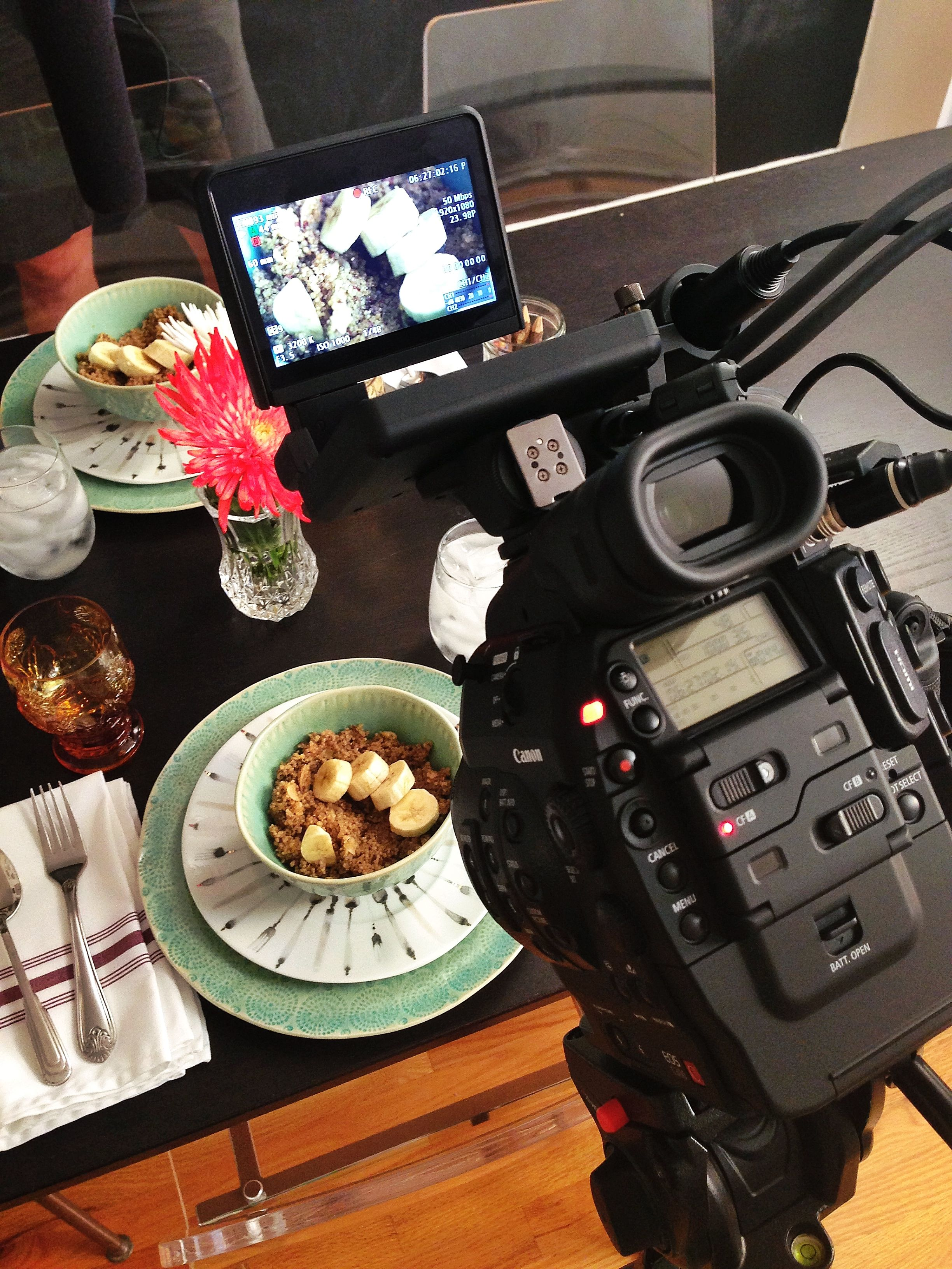 behind the scenes, beauty quinoa